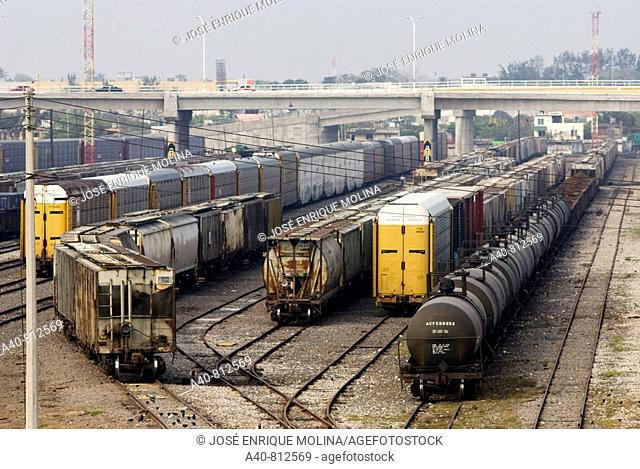 Mexico.Veracruz.Estation freight rail in the port of Veracruz (spring, 2008)