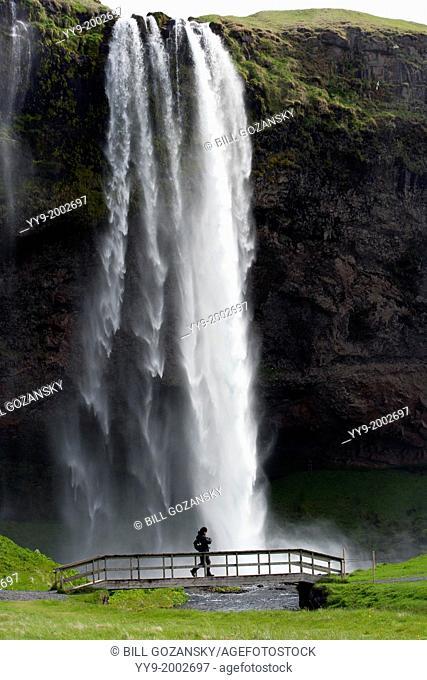 Seljalandsfoss Waterfall - South Iceland
