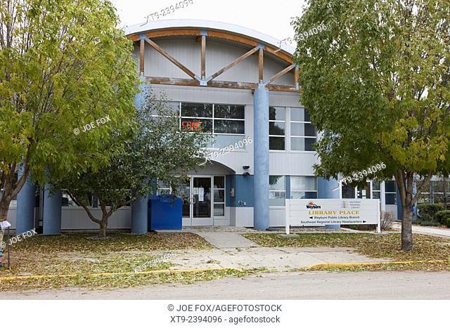 library place weyburn southeast regional libray Saskatchewan Canada