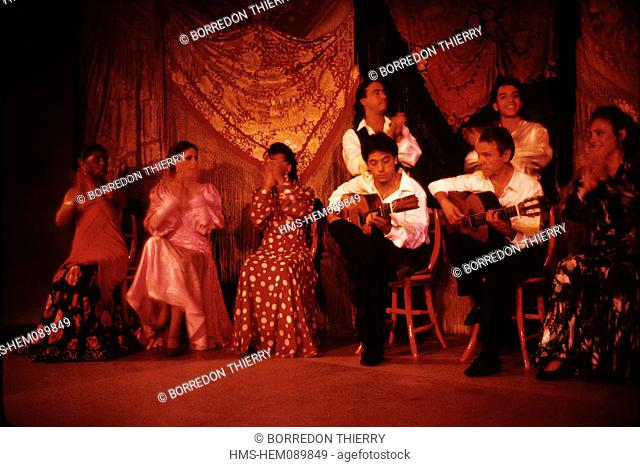 Spain, Madrid, flamenco show