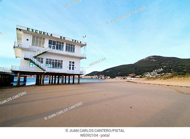 Sailing School in Laredo. Cantabria. Spain