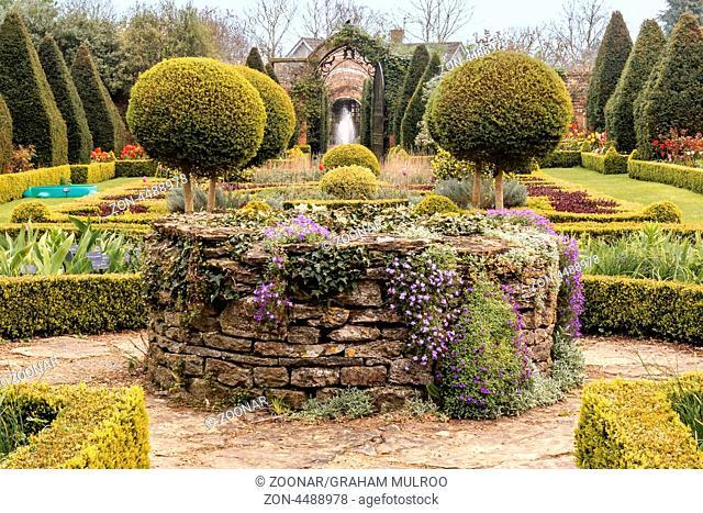 Formal Garden Wiltshire UK