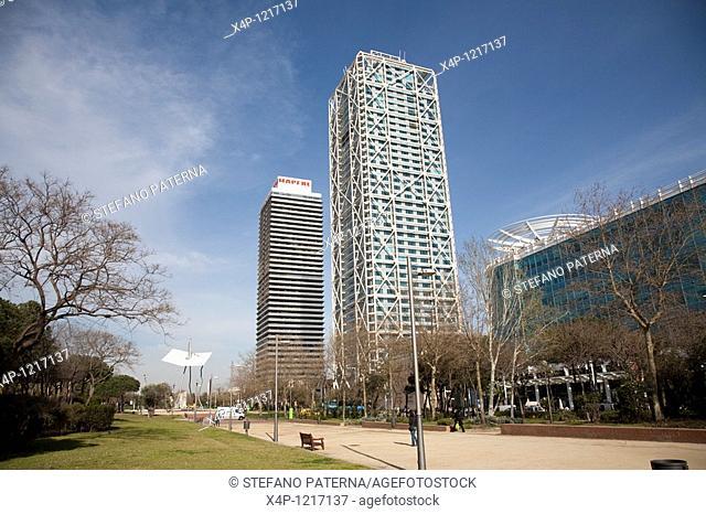 Hotel Arts Barcelona and Torre Mapfre, Barcelona, Spain