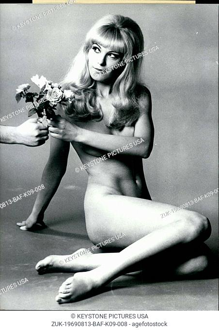 Aug. 13, 1969 - Pictured is actress Meggy Busse-Steffens. Before she became an actress she was an interpreter and translator in Munich. She was 1