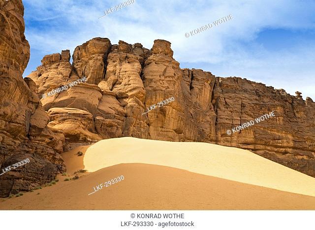 Tadrart Valley, Akakus mountains, Libya, Sahara, North Africa