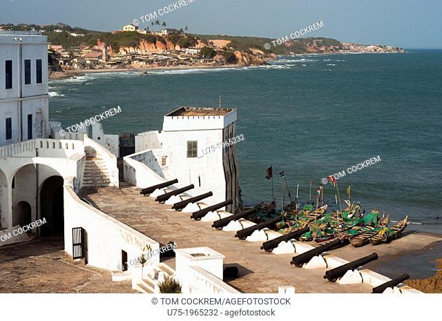 Eastern bastion, Cape Coast Castle, Cape Coast, Ghana, Africa