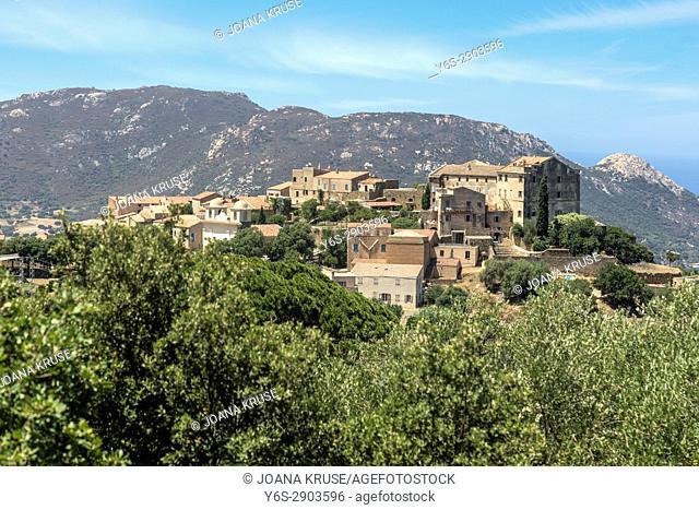 Pigna, Corsica, France