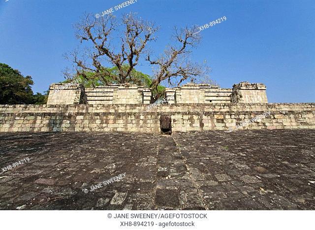 Ballcourt (AD 731), Great Plaza, Mayan ruins of Copan, Copan Ruinas, Honduras