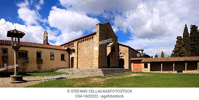 San Francesco church, Fiesole, Italy