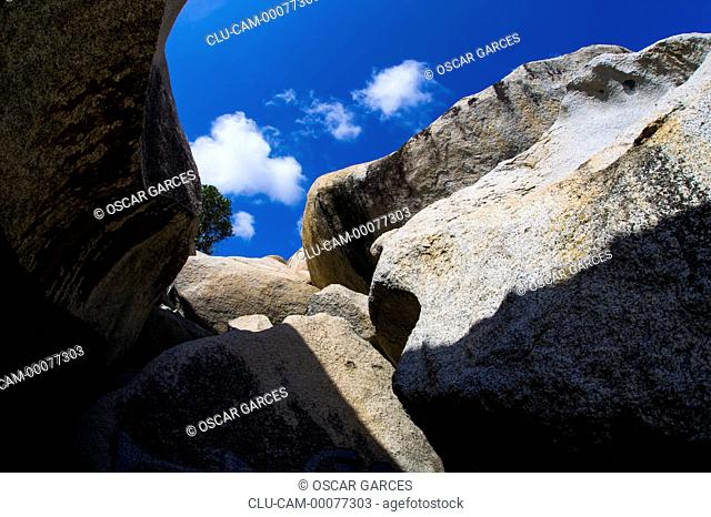Ayo Rock Formations, Ayo village, Aruba, Oranjestad, Lesser Antilles, Central America