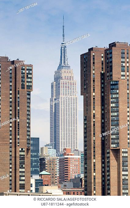 United States, New York City, Manhattan, Empire State Building