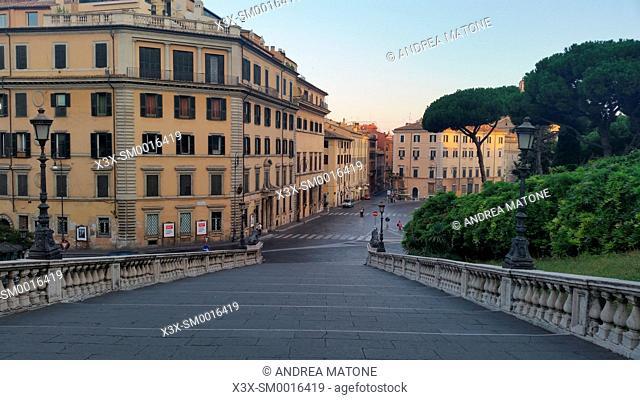 View of Rome from Piazza del Campidoglio