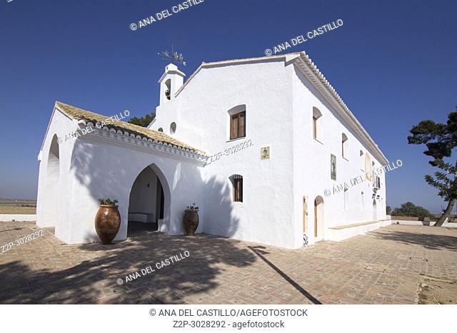 Abdon y Senen chapel on Montanyeta dels Sants Sueca Valencia Spain