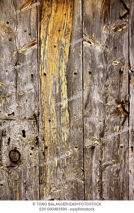 Aged old wood texture of ancient wooden doors