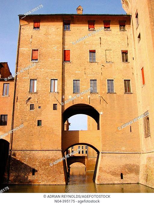 Este Castle (1385-1570). Ferrara. Italy