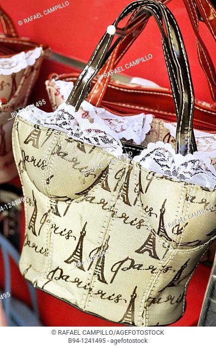 Bag souvenir from Paris, France