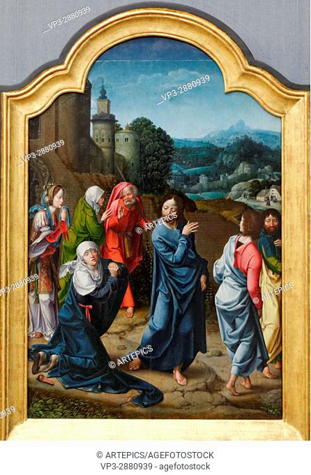 Master of 1518- Christ's farewell to the women - 1520 - XVI th Century - Flemish School - Gemäldegalerie - Berlin