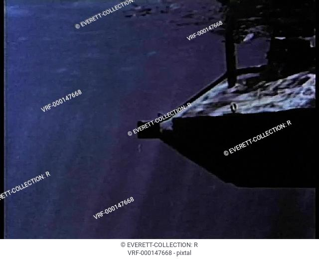 19th century mini-submarine underwater