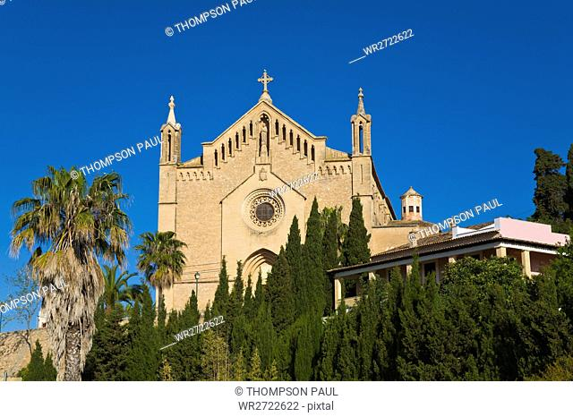 Sanctuary of Sant Salvador, Arta, Mallorca, Spain