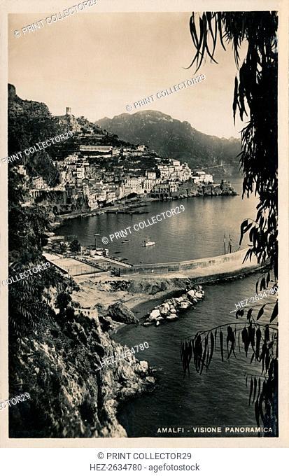 'Amalfi - Visione Panoramica', c1910. Artist: Unknown