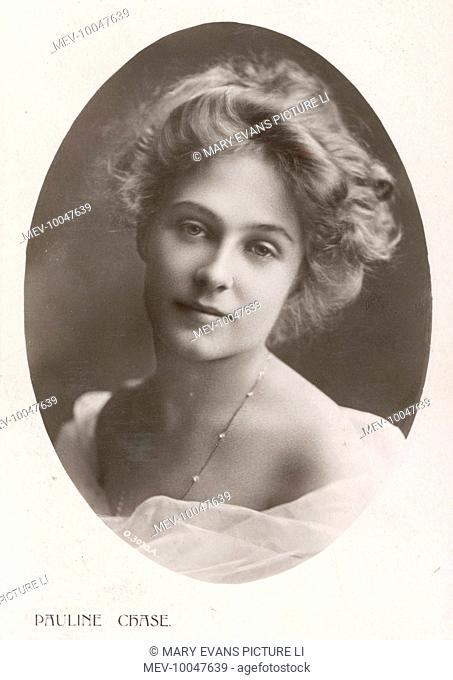 Pauline Chase, actress, notable for playing the part of Barrie's 'Peter Pan'