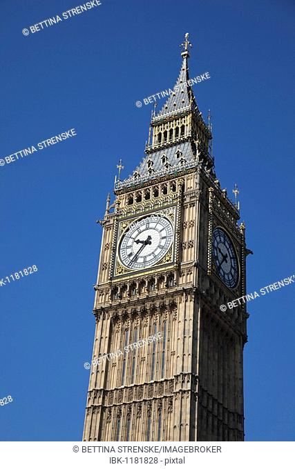 London landmark, Big Ben, London, England, United Kingdom, Europe