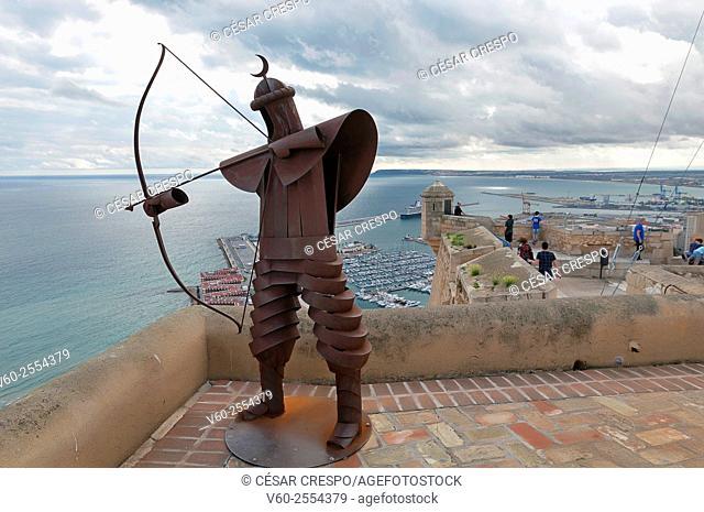 Castle, Alicante, Comunidad Valenciana, Spain