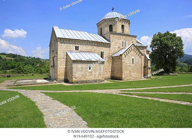 Annunciation church of Gradac Monastery (c. 1275), Raska district, Serbia