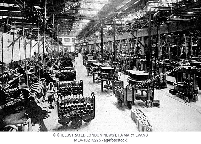 The chassis test-shop of Wolseley Motors Ltd. At Adderley Park near Birmingham transformed