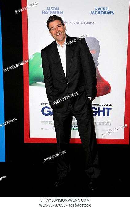 Premiere of New Line Cinema and Warner Bros. Pictures' 'Game Night' Featuring: Kyle Chandler Where: Hollywood, California