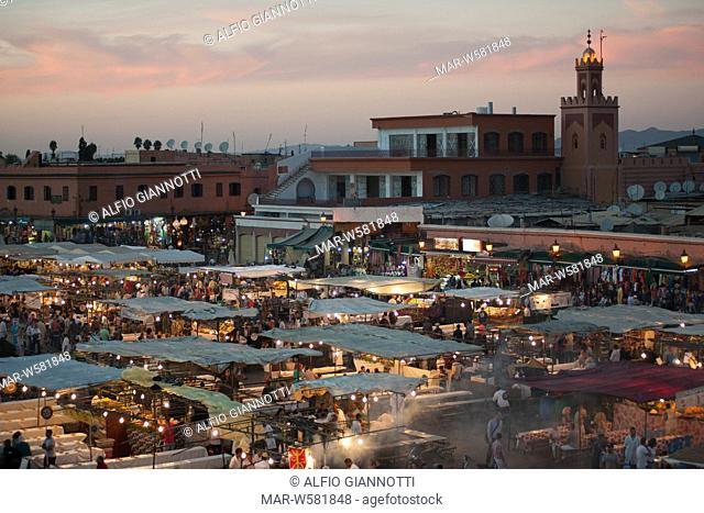 Djemaa el-Fna Square, Marrakech City, Morocco