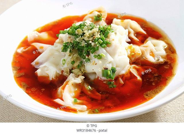 spicy dumpling