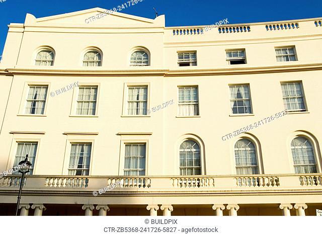 Architecture in Regents Park area, London, UK