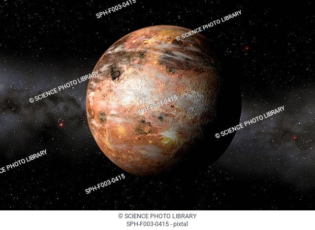 Carbon planet, artwork