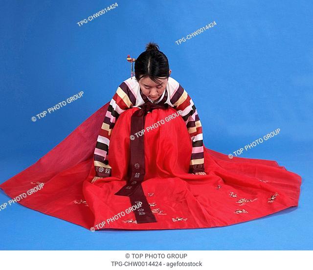 a woman of Korean Ethnicity