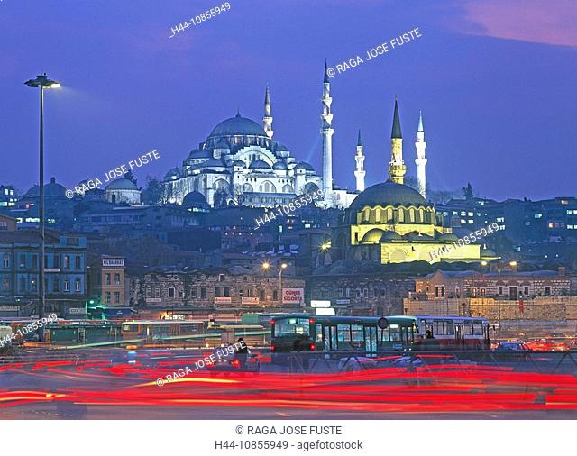 10855949, Turkey, April 2008, Istanbul city, Suley
