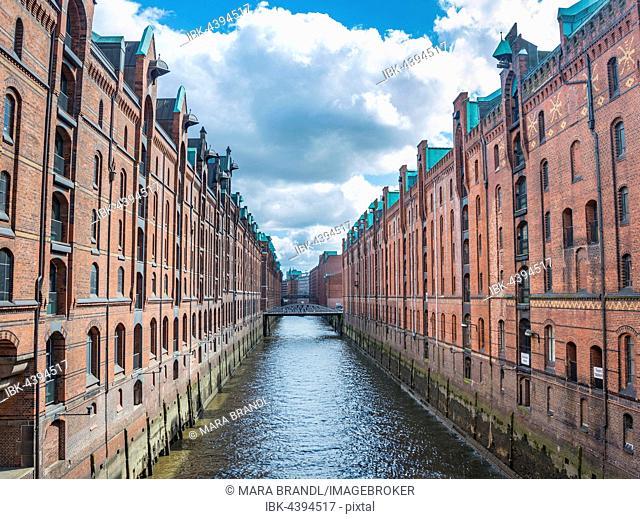 Warehouses, Hamburg Warehouse District, Hamburg, Germany