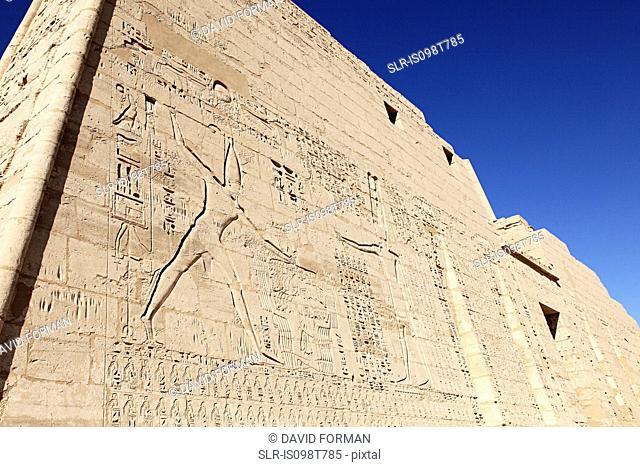 Habu temple egypt