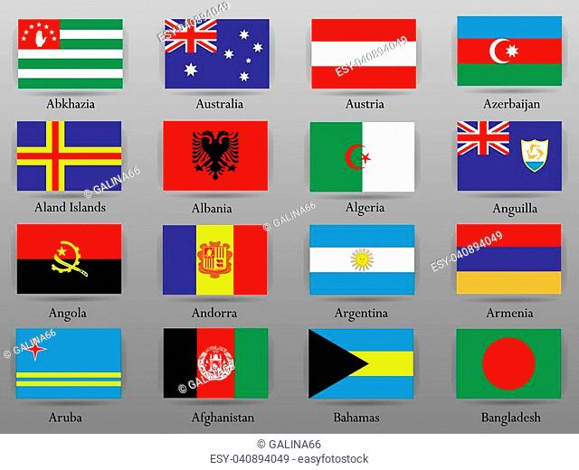 Map afghanistan flag Stock Photos and Images | age fotostock