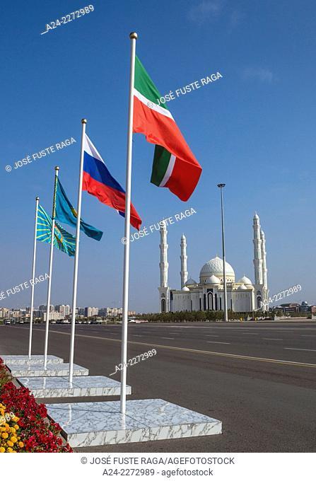 Kazakhstan, Astana City, New Administrative City, Hazret Sultan Mosque