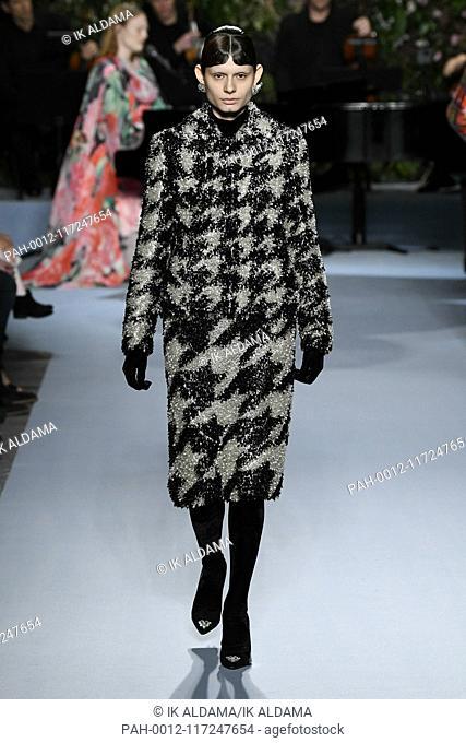 Richard Quinn Runway Show During London Fashion Week Aw19 Autumn
