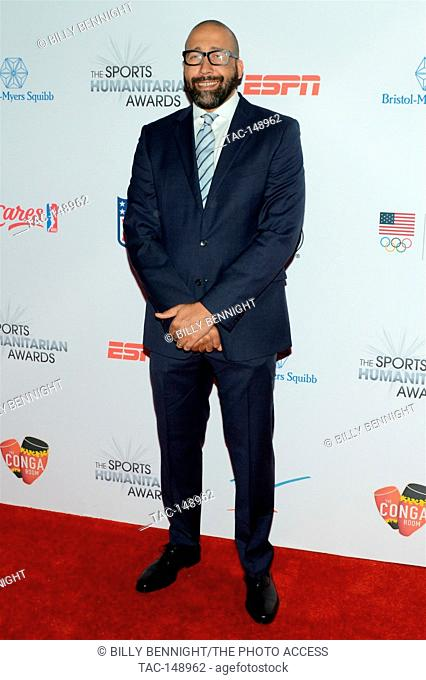 David Fizdale attends the 3rd Annual Sports Humanitarian of the Year Awards at LA LIVE'S The Novo in Los Angeles on July 11, 2017