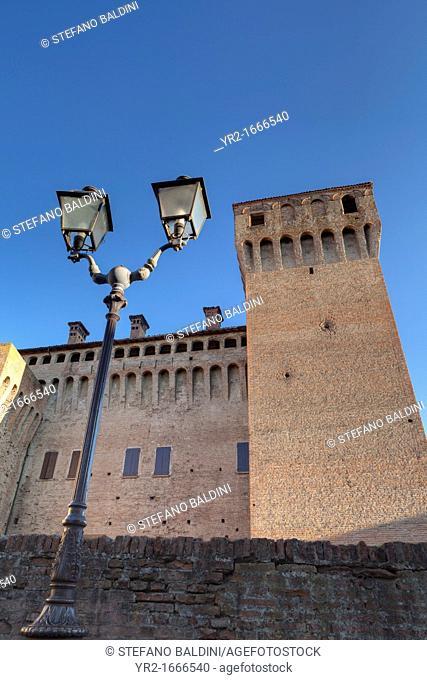 The Vignola castle, Vignola, Emilia Romagna, Italy