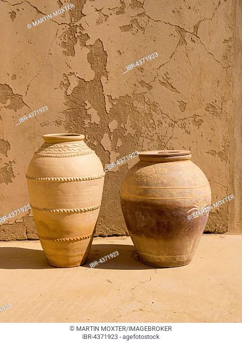 Jabrin Castle, vases, antiques, Jabreen, Bahlat, Ad Dakhiliyah, Oman