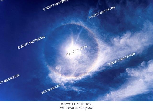 22 Degree Halo, Optical Phenomenon