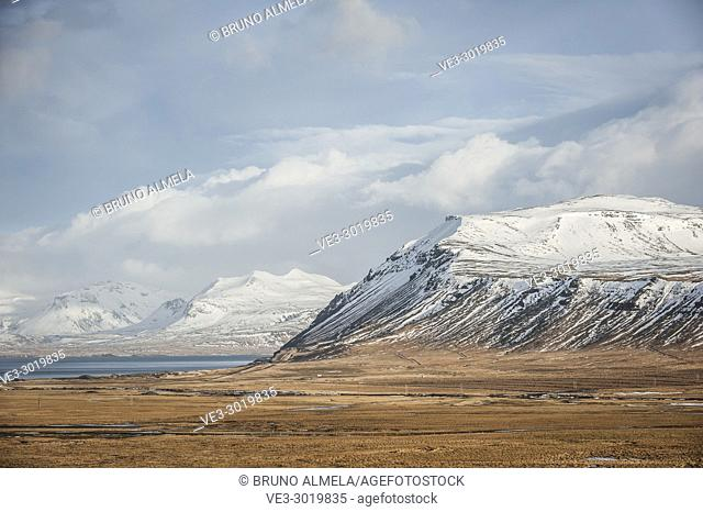 Enni mountain in Snæfellsnes peninsula (region of Vesturland, Iceland)