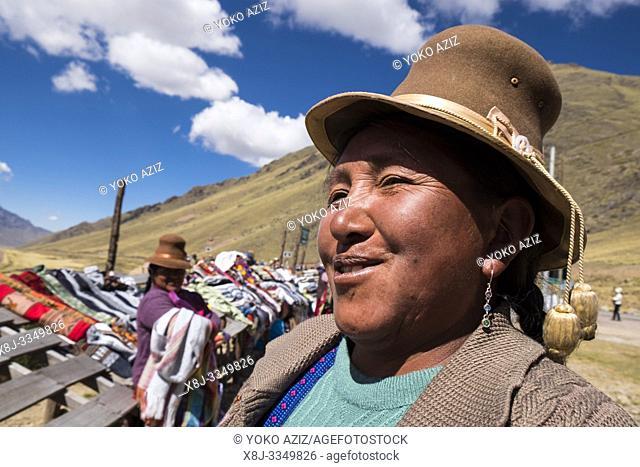 Peru, Chimboya, portrait