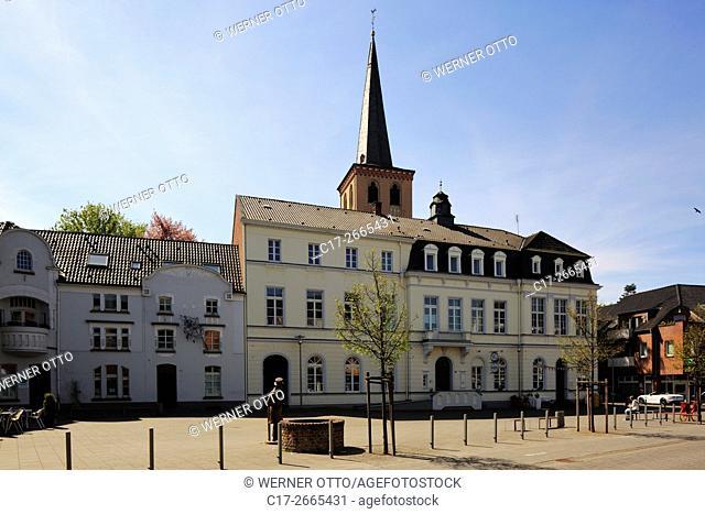 Germany, Nettetal, Maas-Schwalm-Nette Nature Park, Schwalm-Nette Nature Park, Lower Rhine, Rhineland, North Rhine-Westphalia, NRW, Nettetal-Schaag, Moubis House