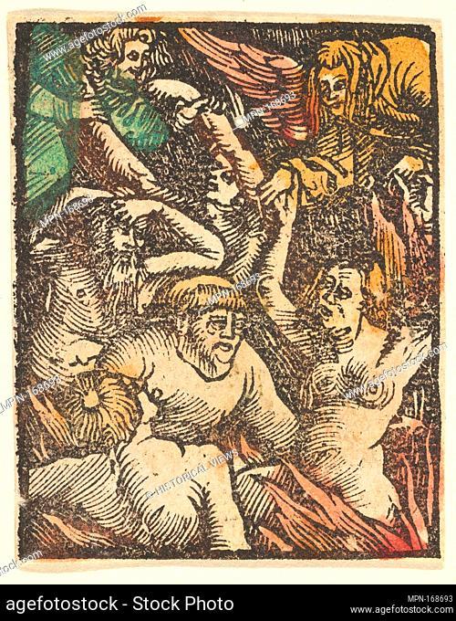 Hell (copy). Artist: After Hans Baldung (called Hans Baldung Grien) (German, Schwäbisch Gmünd (?) 1484/85-1545 Strasbourg (Strassburg)); Date: after 1511;...