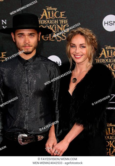 """Premiere Of Disney's """"""""Alice Through The Looking Glass"""""""" Featuring: Zella Day Where: Hollywood, California, United States When: 24 May 2016 Credit:..."""
